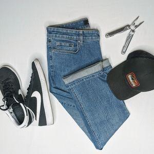 Calvin Klein denim blue jeans